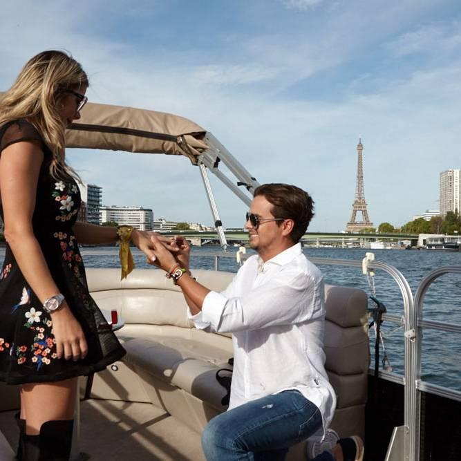 Croisière privée en amoureux sur la Seine à Paris !