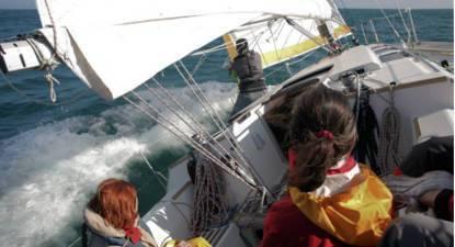 Sortie en bateau à Voile à La Rochelle à 2