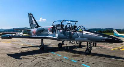 Vol en avion de chasse L39 à Grenoble