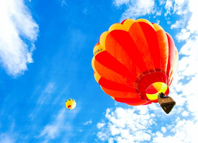 Vol en montgolfière magique  pour 2