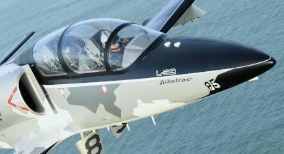 Vol en avion de chasse L39 à Avignon