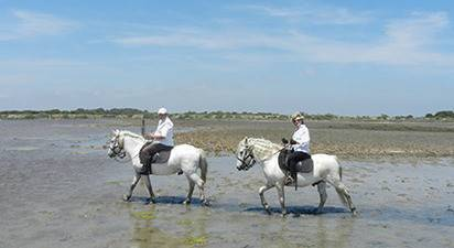 Séjour en hôtel de charme et balade à cheval en Camargue