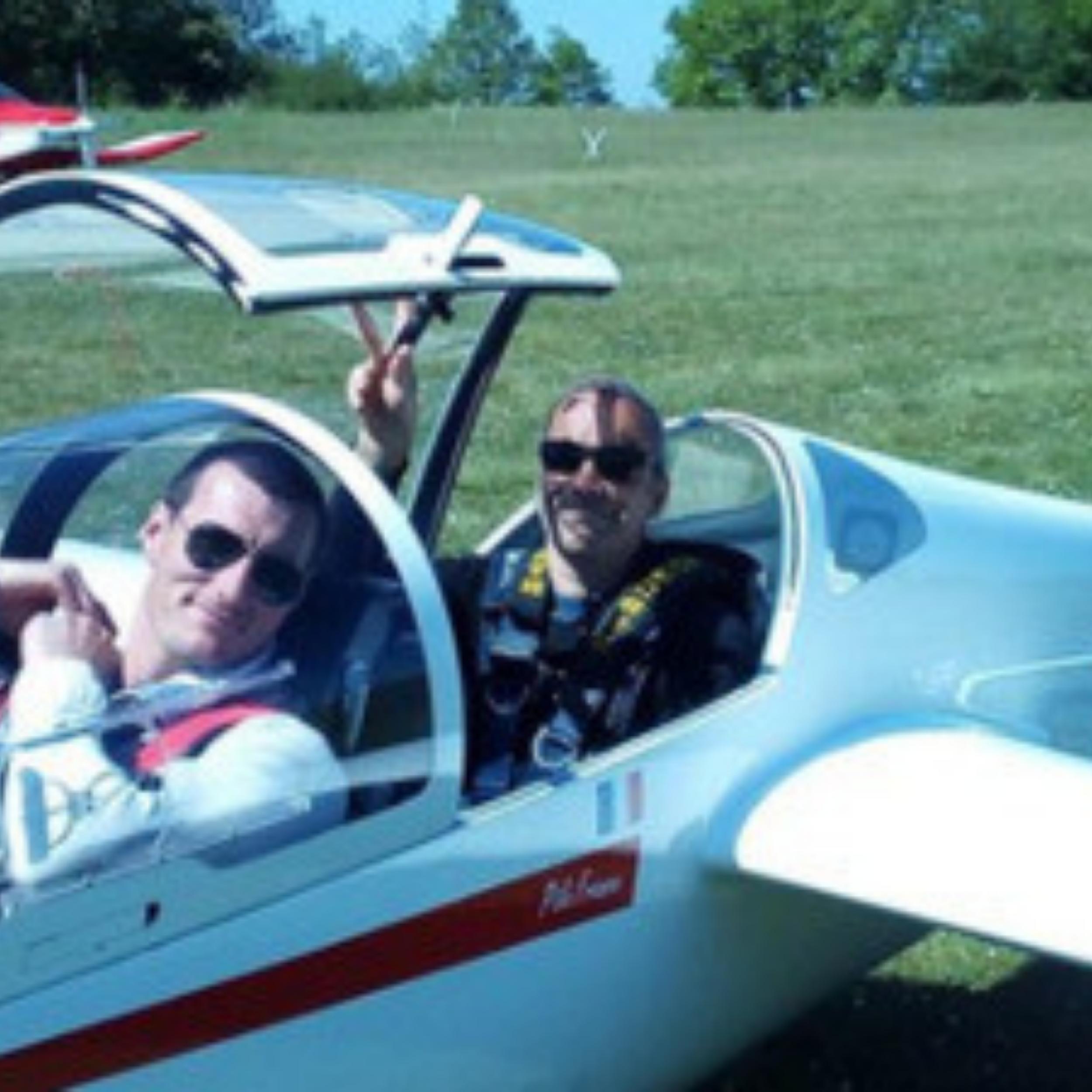 Initiation au pilotage de Planeur près de Paris Ouest