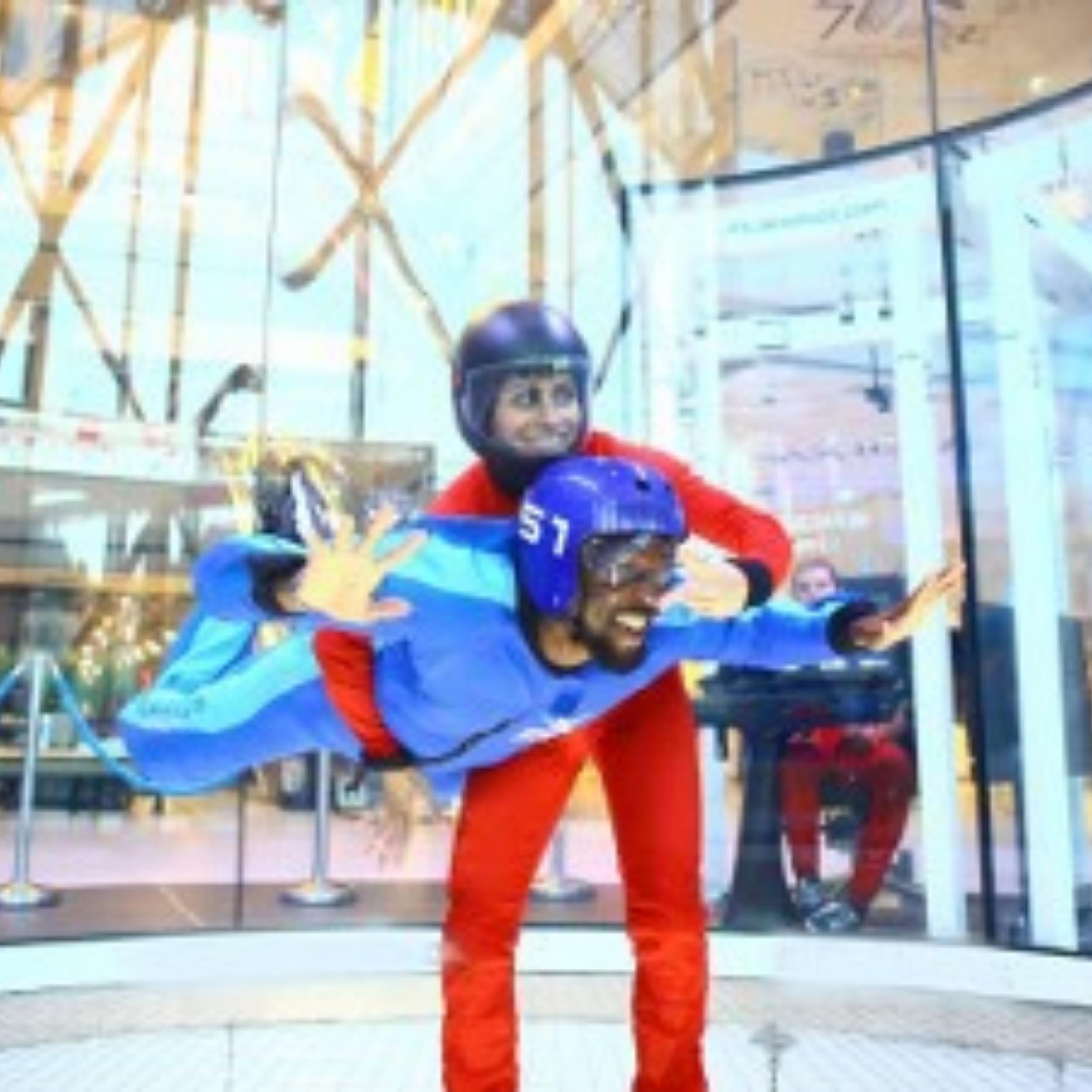Simulateur de chute libre à Paris Est