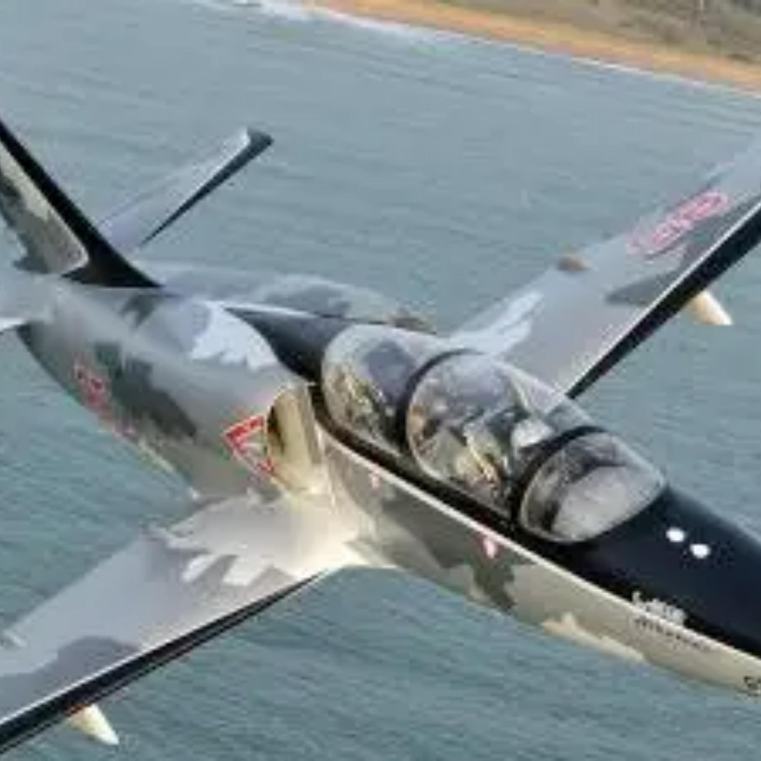 Vol en avion de chasse près de Paris