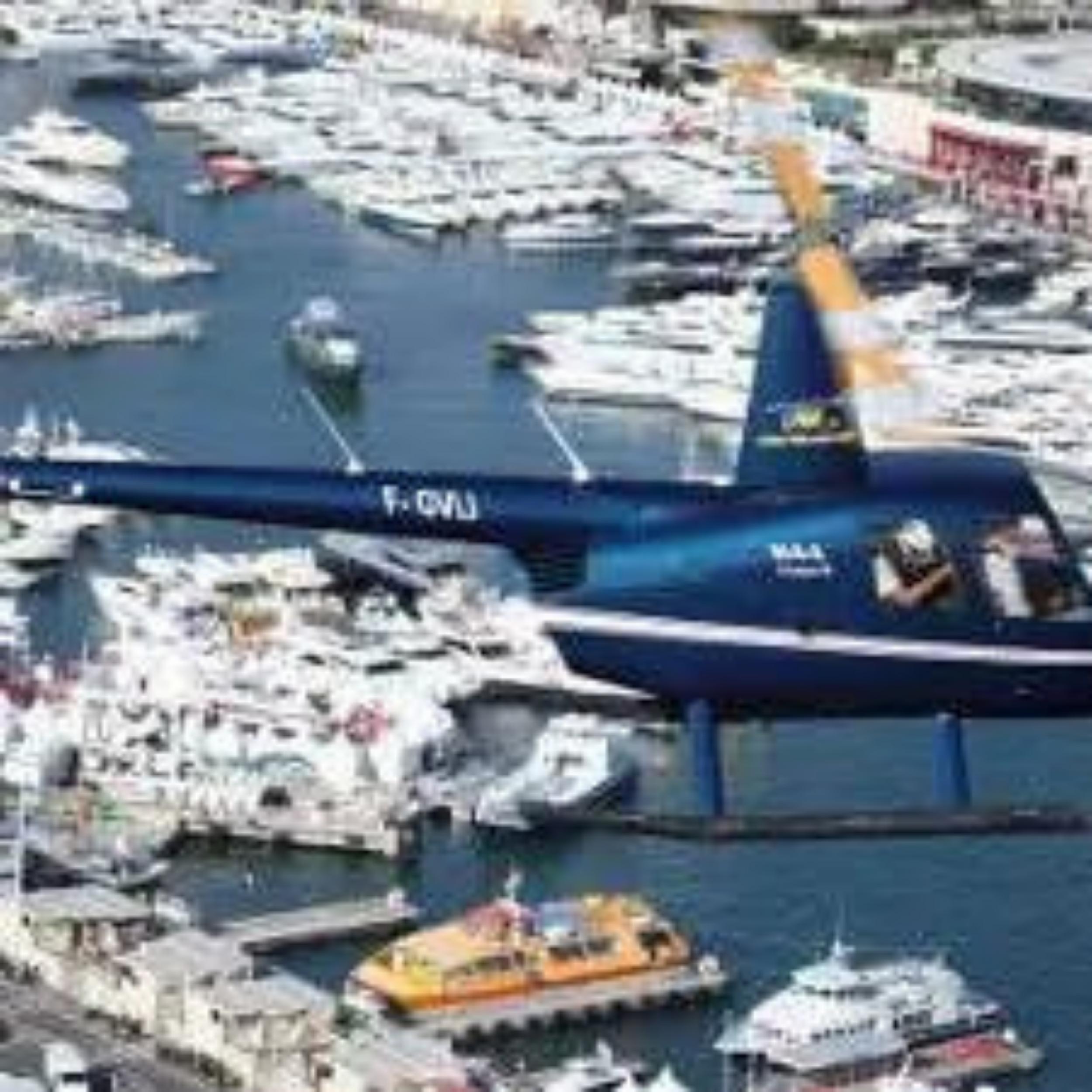 Vol Panoramique en hélicoptère aux Gorges du Verdon (de Cannes)