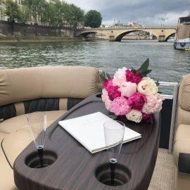 Croisière Privée à faire en amoureux sur la Seine à Paris !