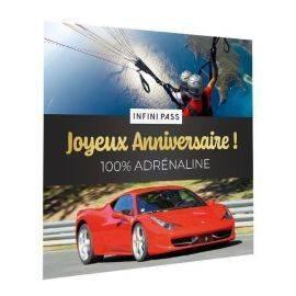 Infini Pass Joyeux Anniversaire - 100% Adrénaline