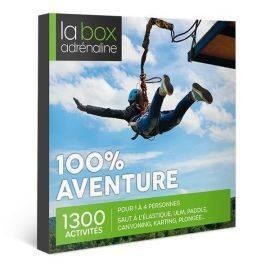 Coffret cadeau La Box Adrénaline 100% Aventure