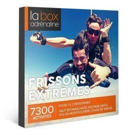 Coffret cadeau La Box Adrénaline Frissons extrêmes