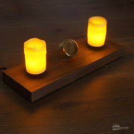 Bougies en Lévitation
