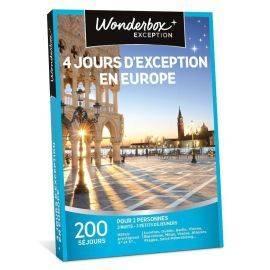 4 jours d'exception en Europe