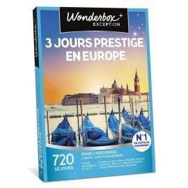3 jours prestige en Europe