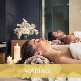 Massage pour 2 et Accès au Spa pour jeunes mariés
