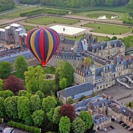 Vol en Montgolfière au dessus de Fontainebleau en Couple