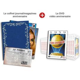 Cadeau Anniversaire : DVD et Journal de sa Naissance