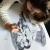 PORTRAIT PERSONNALISÉ DE COUPLE À PARTIR D'UNE PHOTO - FORMAT RAISIN 50x65cm